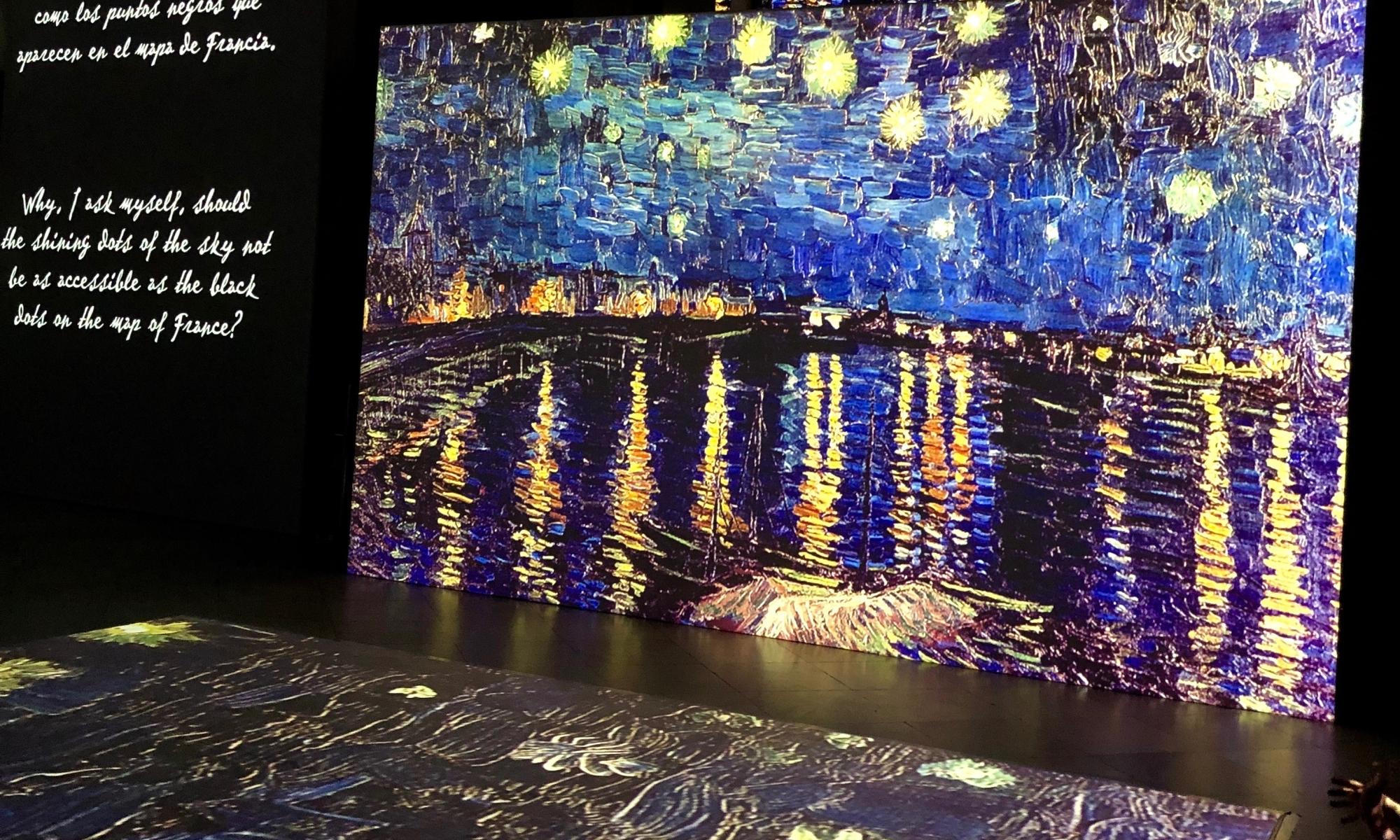 Exposiciones madrid febrero 2019 | Van Gogh Alive