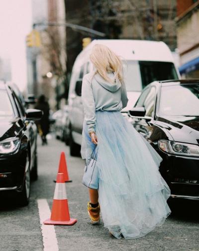 Esta primavera se llevan los looks coloridos | The Fashion Guitar NYFW