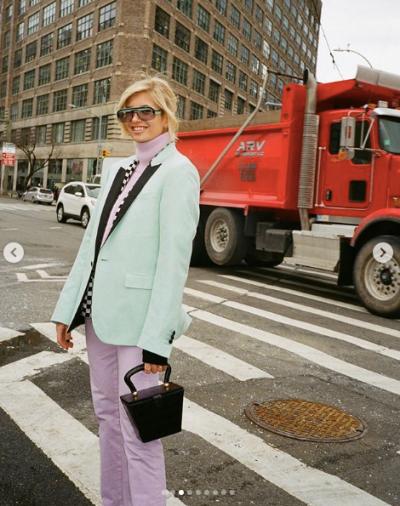 Esta primavera, tus looks se llenan de colores pastel | Xenia Adonts NYFW