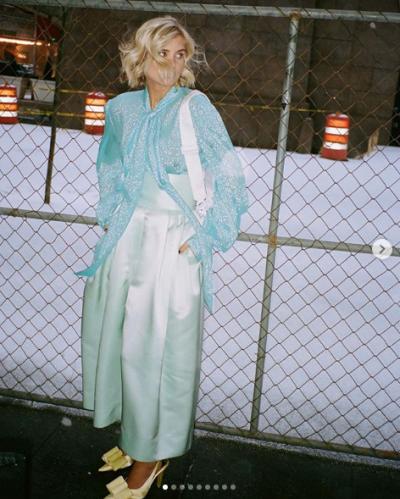 Esta primavera se llevan los looks coloridos |Xenia Adonts NYFW